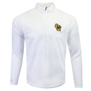 Milwaukee Brewers Antigua White Sonar 1/4 Zip