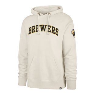 Milwaukee Brewers '47 Brand Dune Atlas Striker Hooded Sweatshirt