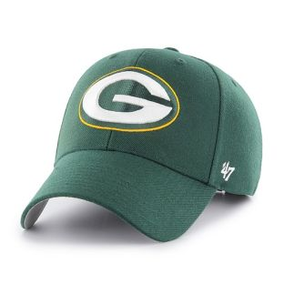 Green Bay Packers '47 Brand Green MVP Adjustable Cap
