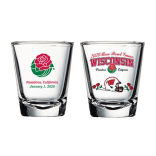 Wisconsin Badgers 2020 Rose Bowl Commemorative Shot Glass