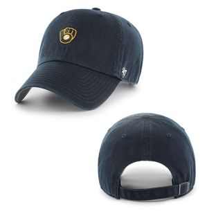 Milwaukee Brewers '47 Brand Navy Runner Up Adjustable Hat