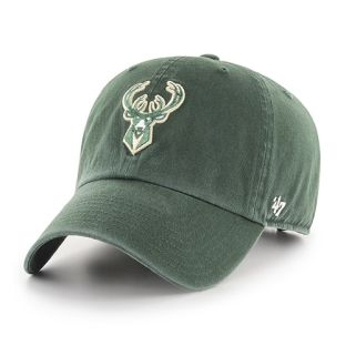 Milwaukee Bucks '47 Brand Clean Up Adjustable Hat