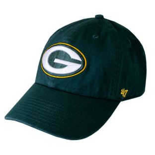 Green Bay Packers '47 Brand Green Cleanup Adjustable Cap