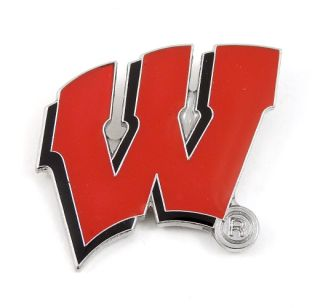 Wisconsin Badgers Motion W Lapel Pin