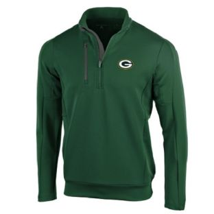 Green Bay Packers Antigua Green Generation 1/2 Zip Pullover