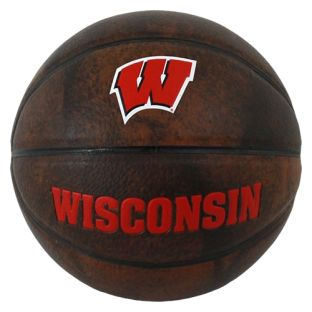 Wisconsin Badgers Mini Vintage Basketball