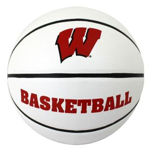 Wisconsin Badgers Full Size Autograph Basketball