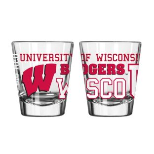 Wisconsin Badgers Spirit Shot Glass