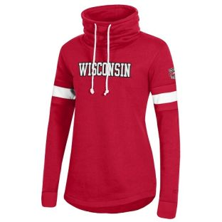 Wisconsin Badgers Champion Women's Superfan Cowl Crew