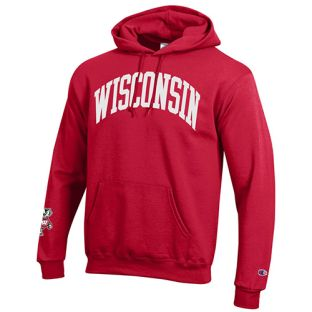 Wisconsin Badgers Champion Arch Bucky Cuff Hooded Sweatshirt