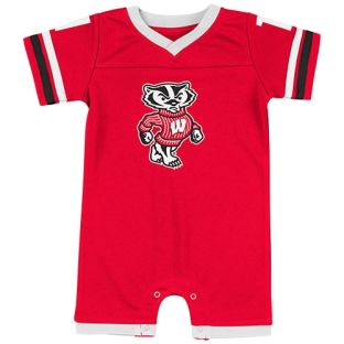 Wisconsin Badgers Colosseum Infant Red One Time Romper