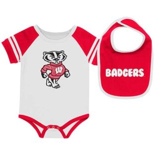 Wisconsin Badgers Colosseum Infant Roll Out Onesie Set