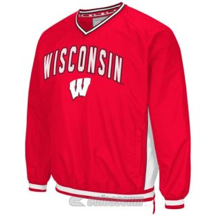 Wisconsin Badgers Big and Tall Fair Catch Windbreaker