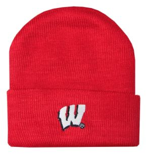 Wisconsin Badgers Infant Knit Hat
