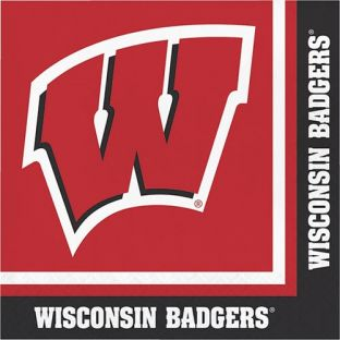 Wisconsin Badgers Lunch Napkins