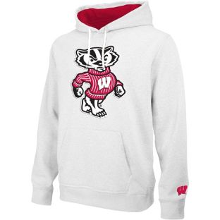 Wisconsin Badgers E5 Tackle Twill Bucky Hooded Sweatshirt