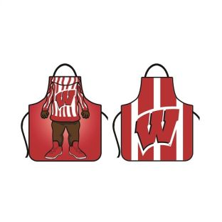 Wisconsin Badgers Double Sided Apron