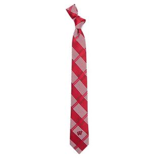 Wisconsin Badgers Skinny Plaid Tie