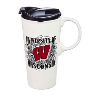 Wisconsin Badgers 17oz Drinkware Perfect Cup