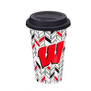 Wisconsin Badgers 10oz Drinkware Travel Mug