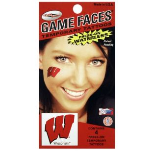 Wisconsin Badgers Motion W Tattoo