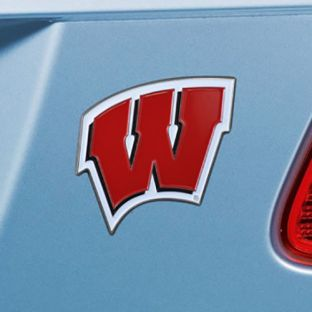 Wisconsin Badgers Fan Mats Colored W Emblem
