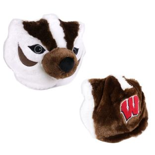 Wisconsin Badgers Custom Bucky Plush Hat