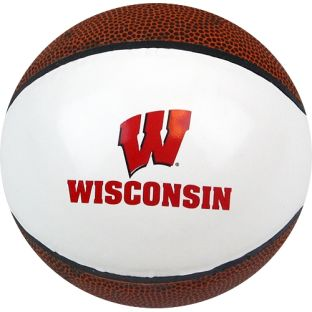 Wisconsin Badgers Mini Autograph Basketball