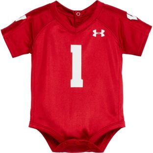 Wisconsin Badgers Under Armour Newborn Football Jersey