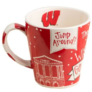 Wisconsin Badgers Ceramic Spirit Mug