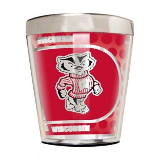Wisconsin Badgers 2 oz SS Shot Glass