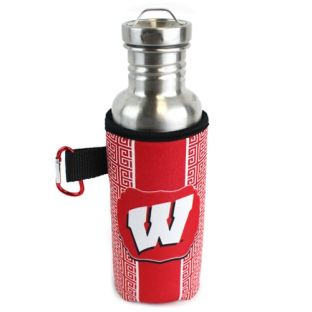 Wisconsin Badgers 24oz Bottle Holder