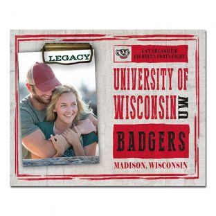 Wisconsin Badgers 8x10 Chronicle Photo Holder