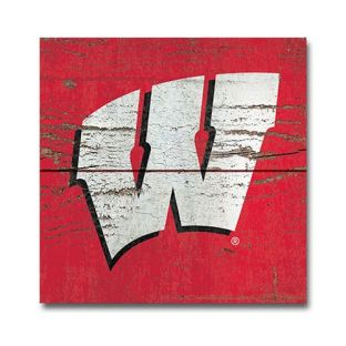Wisconsin Badgers Wood Motion W Magnet