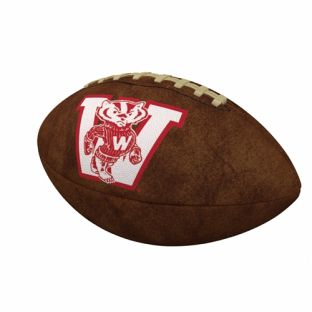 Wisconsin Badgers Full Size Vintage Football