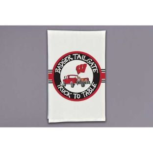 Wisconsin Badgers Magnolia Lane Tailgate Hand Towel