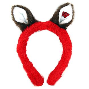 Wisconsin Badgers Plush Ear Headband