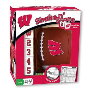 Wisconsin Badgers Shake n' Score Game