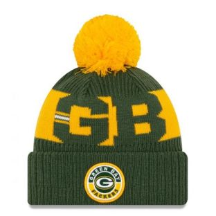 Green Bay Packers New Era 2020 Sideline Sport Knit Cap