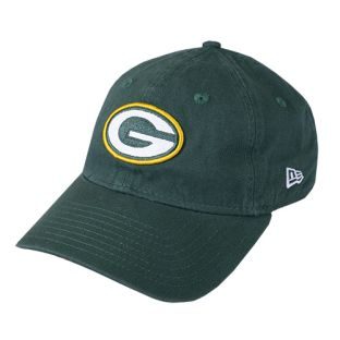 Green Bay Packers New Era Green Women's Glisten Adjustable Cap