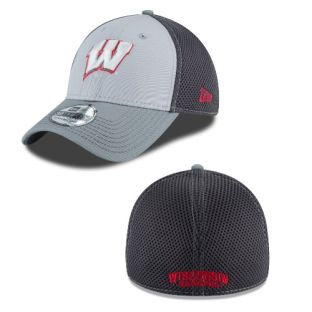 Wisconsin Badgers Grayed Out Neo Hat