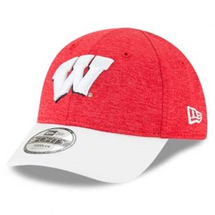 Wisconsin Badgers New Era Red Toddler Shadow Hat
