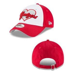 Wisconsin Badgers Youth Girls Sparkly Fan Hat
