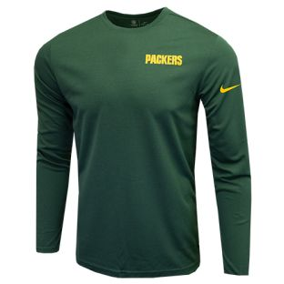 Green Bay Packers Nike 2019 Coaches UV Long Sleeve T-Shirt