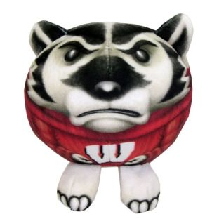 Wisconsin Badgers Plush Bucky Fur Pet