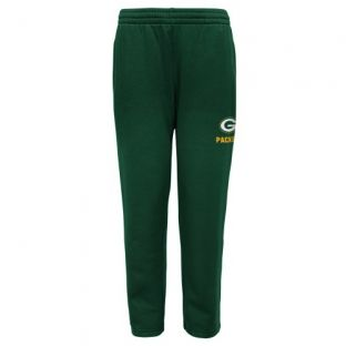 Green Bay Packers Outerstuff Green Youth Essential Sweatpant