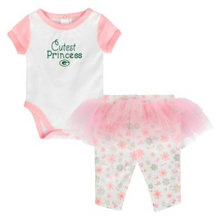 Green Bay Packers Outerstuff Pink Newborn Princess Tutu Set