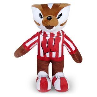 "Wisconsin Badgers 11"" Bucky Badger Stuffed Animal"