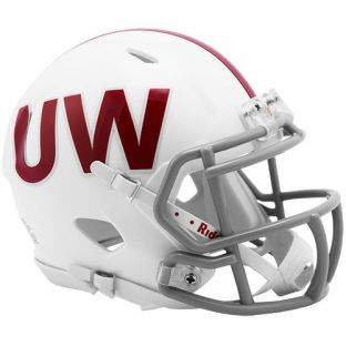 Wisconsin Badgers Riddell Throwback Authentic Helmet