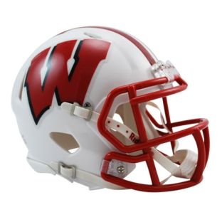 Wisconsin Badgers Riddell Replica Mini Speed Football Helmet